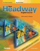 9780194716154: New Headway. Pre-Intermediate. Student's Book. Mit zweisprachiger Vokabelliste. English Course. Buch und Audio-CD
