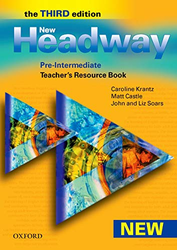 9780194716260: New Headway Pre-Intermediate: Teacher's Resource Pack 3rd Edition: Teacher's Resource Book Pre-intermediate lev (New Headway Third Edition)