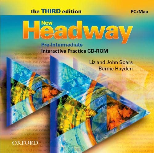 9780194716338: New Headway: Pre-Intermediate Third Edition: Interactive Practice CD-ROM: Six-level general English course for adults