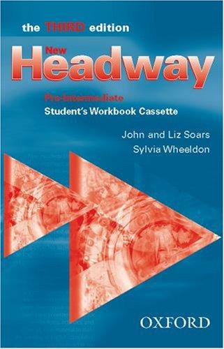 9780194716376: New Headway: Student's Workbook Cassette Pre-intermediate level