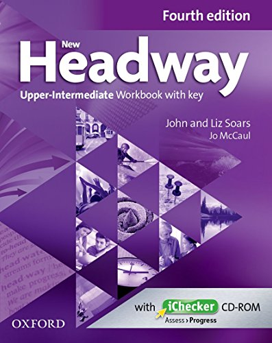9780194718882: New Headway: Upper-Intermediate B2: Workbook + iChecker with Key: A new digital era for the world's most trusted English course
