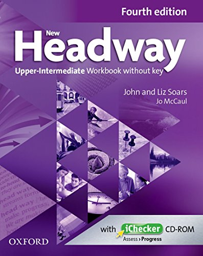 9780194718899: New Headway: Upper-Intermediate B2: Workbook + iChecker without Key: The world's most trusted English course