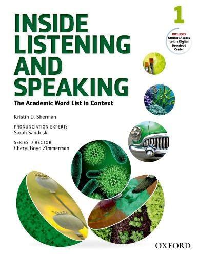 9780194719131: Inside Listening & Speaking 1 Students Book Pack