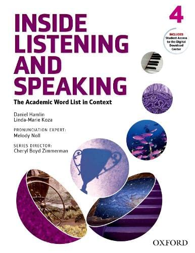 9780194719438: Inside Listening and Speaking Level 4 Student Book