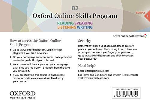 9780194719988: Oxford Online Skills Program: B2,: General