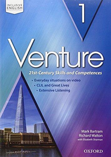 9780194721677: Venture. Vol. I. Con Student's Book. Con Workbook. Con Audio CD