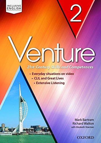 9780194721769: Venture. Premium 2.0. Student book-Workbook-Openbook. Per le Scuole superiori. Con e-book. Con espansione online