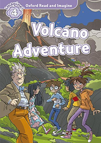 9780194723480: Oxford Read and Imagine: Level 4:: Volcano Adventure audio CD pack