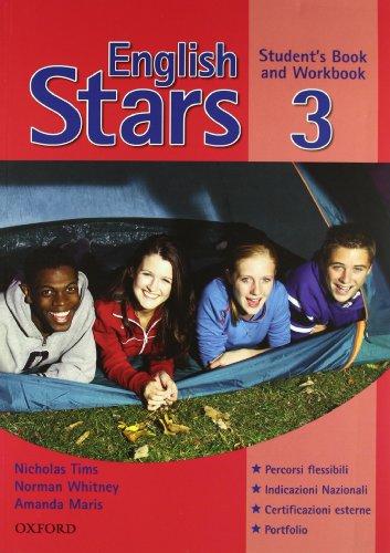 9780194725200: English stars. Student's book-Workbook-Extra book. Per la Scuola media: 3