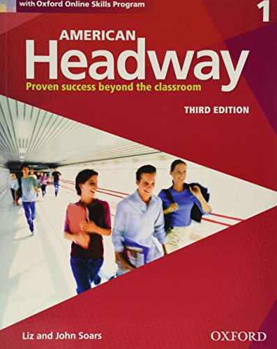 9780194725651: American Headway 3e 1 Students Book+oxford Online Skills Program Pack