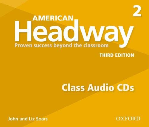 9780194726016: American Headway 2. Class CD 3rd Edition (3) (American Headway Third Edition)