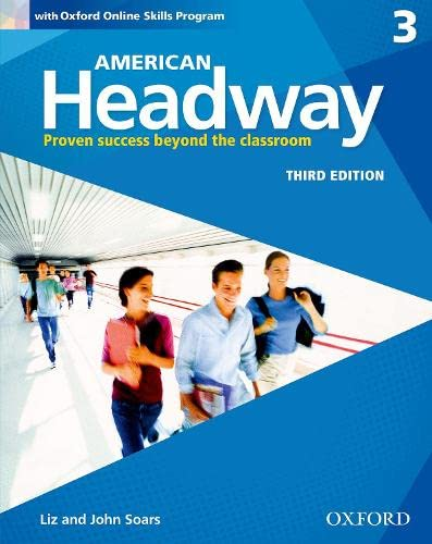 9780194726115: American Headway 3e 3 Students Book+oxford Online Skills Program Pack