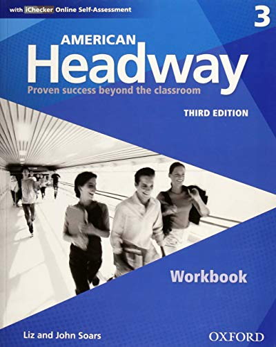 9780194726146: American Headway Third Edition: Level 3 Workbook: With iChecker Pack (American Headway, Level 3)