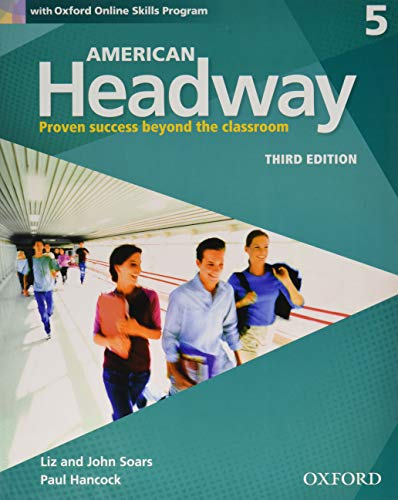 9780194726573: American Headway 3e 5 Students Book+oxford Online Skills Program Pack