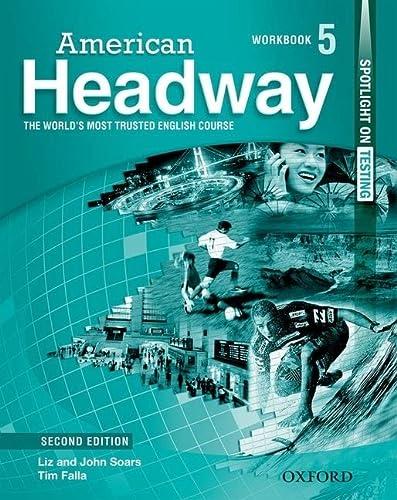 9780194727884: American Headway 5 Workbook