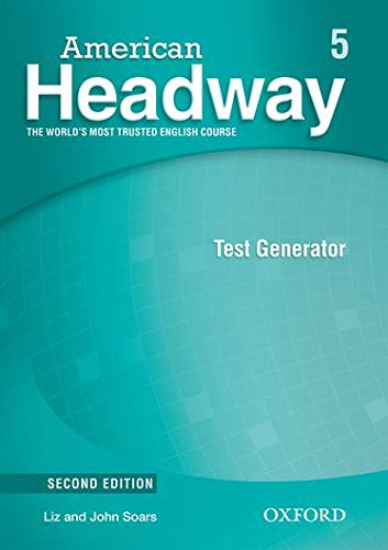 9780194728843: American Headway, Second Edition: Level 5: Test Generator CD-ROM