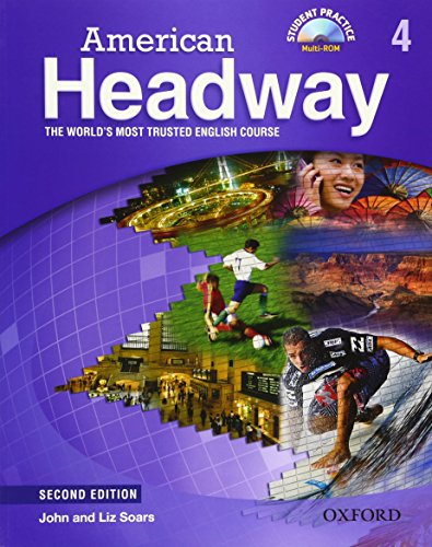 9780194729024: American Headway 4 Student Book & CD Pack