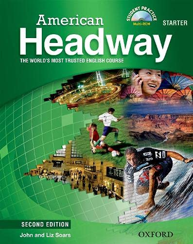 9780194729260: American Headway Starter: Student's Book with Student Practice Multi-ROM 2nd Edition (American Headway Second Edition)