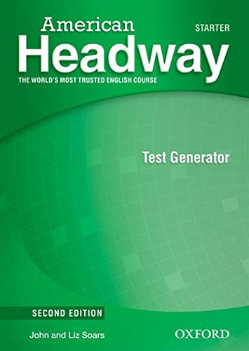 9780194729390: American Headway: Starter: Test Generator CD-ROM