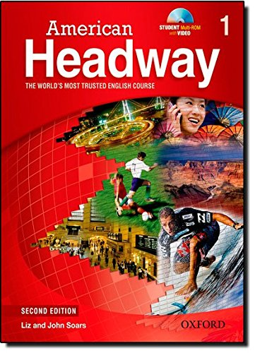 9780194729451: American Headway 1 Student Book & CD Pack