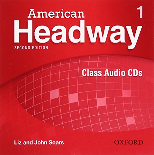 9780194729550: American Headway 1. Class Audio CD 2nd Edition (American Headway Second Edition)