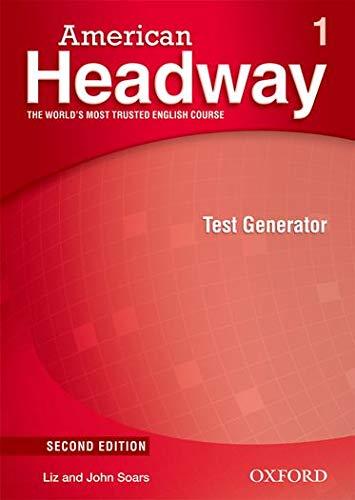 9780194729581: American Headway 1. Test Generator CD-ROM 2nd Edition (American Headway Second Edition)