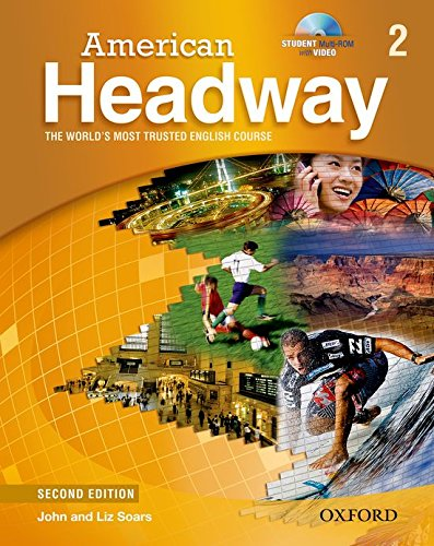 9780194729642: American Headway 2 Student Book & CD Pack