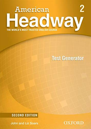 9780194729772: American Headway: Level 2: Test Generator CD-ROM