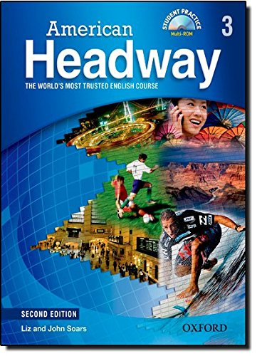9780194729833: American Headway, Second Edition Level 3: American Headway 3: Student's Book with Student Practice Multi-ROM 2nd Edition