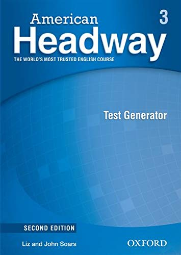 9780194729963: American Headway, Second Edition Level 3: American Headway 3: Test Generator CD-ROM 2nd Edition