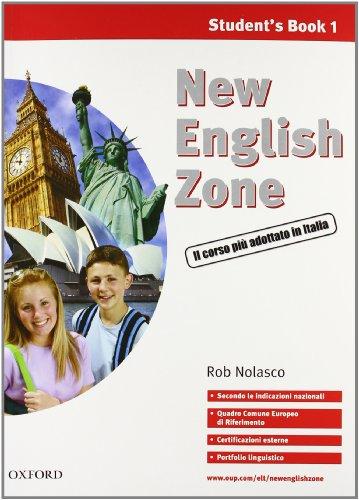 9780194730006: New english zone. Student's multimedia pack. Student's book-Workbook-Portfolio. Per la Scuola media. Con CD Audio. Con CD-ROM: 1