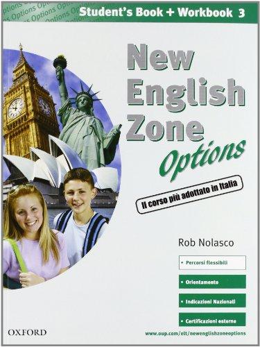 9780194730167: New english zone. Options. Student's multimedia pack: Student's book-Workbook-Extra book. Per la Scuola media. Con CD Audio. Con CD-ROM: 3