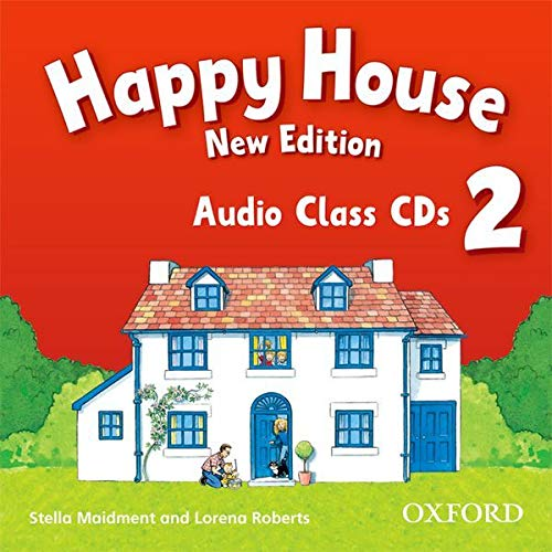 9780194730334: Happy House: 2 New Edition: Class Audio CDs