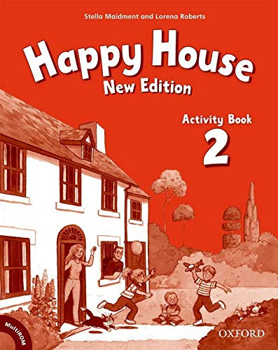 9780194730341: Happy House 2: Activity Book and MultiROM Pack New Edition (Happy Second Edition)