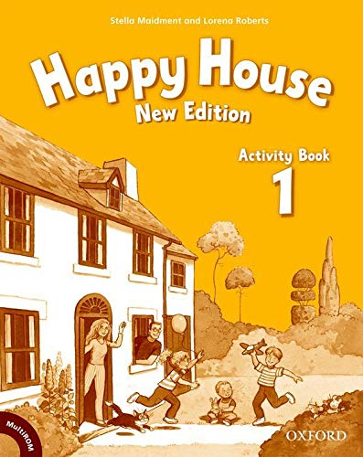 9780194730648: Happy House: 1 New Edition: Activity Book and MultiROM Pack