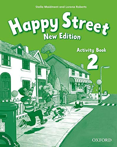 9780194730921: Happy Street 2 new edition Activity Book and multirom pack