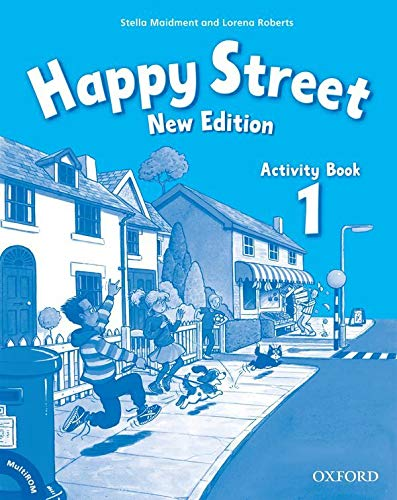 9780194731096: Happy Street: 1 New Edition: Activity Book and MultiROM Pack
