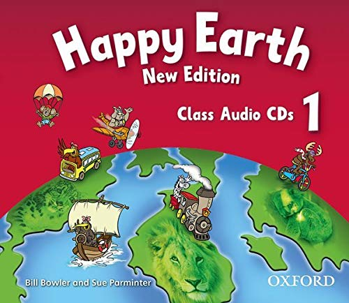 9780194732871: Happy Earth: 1 New Edition: Class Audio CDs