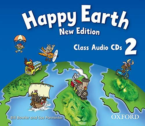 9780194732949: Happy Earth: 2 New Edition: Class Audio CDs