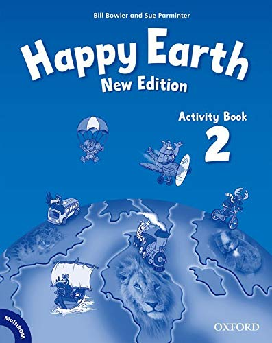 9780194732956: Happy Earth: 2 New Edition: Activity Book and MultiROM Pack