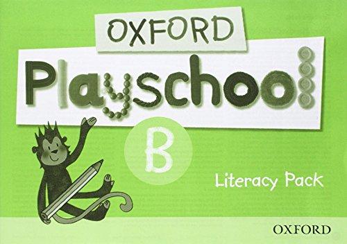9780194735117: Oxford Playschool B: Literacy Pack
