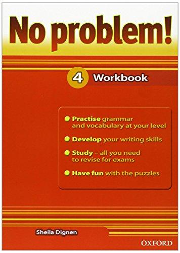 9780194738347: No Problem 4: Workbook (Es)