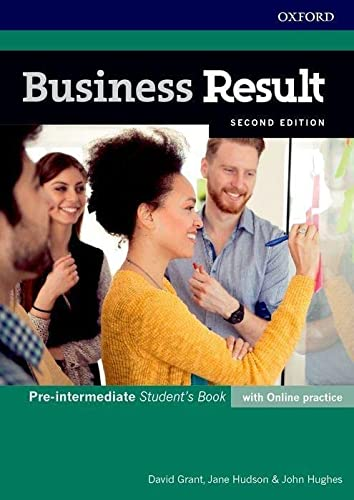 Business Result: Pre-intermediate: Student's Book with Online