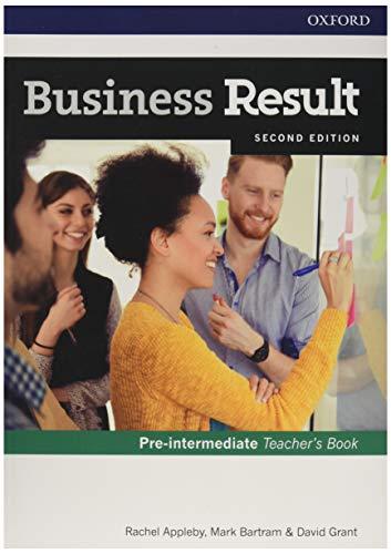 9780194738811: Business Result Pre-Intermediate. Teacher's Book 2nd Edition (Business Result Second Edition)