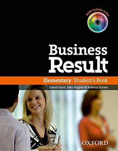 9780194739375: Business result. Elementary. Student's book. Con espansione online. Per le Scuole superiori. Con DVD-ROM