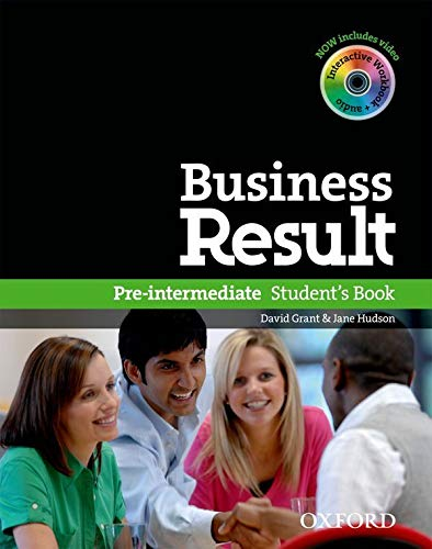9780194739382: Business Result Pre-Intermediate. Student's Book with DVD-ROM + Online Workbook Pack
