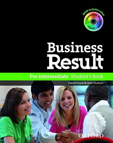 Business Result: Pre-Intermediate: Student's Book with DVD-ROM: S.A. de C.V.