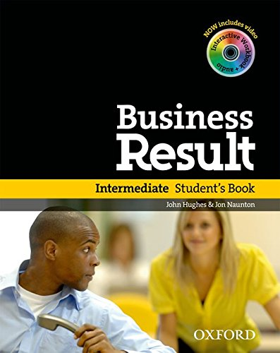 9780194739399: Business Result DVD Edition: Intermediate: Student's Book with DVD-ROM and Interactive or Online Workbook