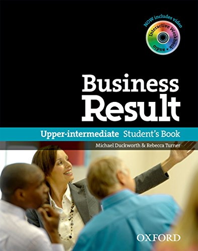 9780194739405: Business Result: Upper-Intermediate: Student's Book with DVD-ROM and Online Workbook Pack