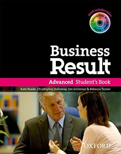 9780194739412: Business result. Advanced. Student's book. Con espansione online. Per le Scuole superiori. Con DVD-ROM